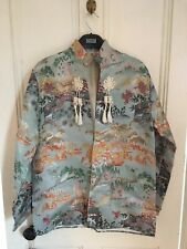 9f019390ea2 1970s vintage Chinese brocade open jacket with large tassels UK 10-12  rockabilly