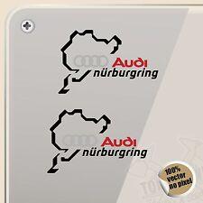 STICKER NÜRBURGRING AUDI SPORT VINYL DECAL VINYL STICKER AUTOCOLLANT