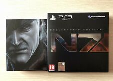 SUPER BUNDLE PS3 Metal Gear Solid 4 Limited Ed. + MASS EFFECT 3 Collector's Ed.