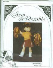 OOP Sew Adorable Pattern fits American Girl Doll Cheerleader Costume