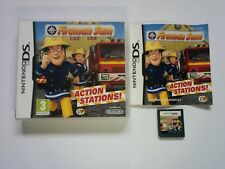 Fireman Sam: Action Stations - Nintendo DS - 2DS 3DS DSi - Free, Fast P&P!