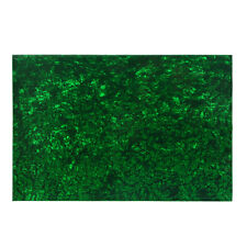 NEW 4Ply Guitar Bass Pickguard Material Blank Sheet Pearl Green Color 290x430mm