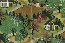 Thimbleberries Stonewall Farm Flannel Quilts softcover book 8 pieced designs