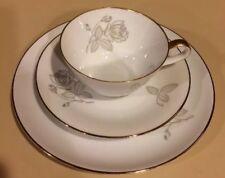 Vintage H & Co Heinrich Rose Trio - Tea Cup Saucer and Plate - Bavaria