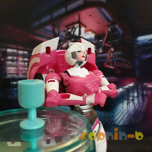 Transformed Wei Jiang R-CEE Pink Lady Robot Figure