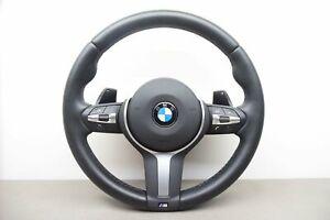 BMW F20 F22 F30 F31 F32 F33 F36 X3 X5 Msport Steering Wheel With SRS S/Paddles