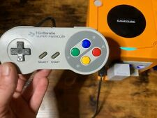 SNES Controller for Gamecube, Wii, Switch (Like HORI Gamecube Pad)