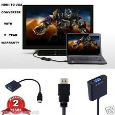 HDMI2VGA -1080P HDMI Male to VGA Female Video Converter Adapter 4 PC DVD HDTV TV
