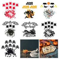 LD_ EG_ 15g/Bag Halloween Party Table Confetti Pumpkin Bat Ghost Spider Sprink
