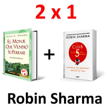 Robin Sharma El Club De Las 5 De La Mañana + El Monje Que Vendio Su Ferrari