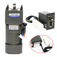 110v 90w Ac Gear Motor Electric Motor Variable Reducer Speed Controller 150 Us