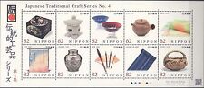 ON SALE NOW - JAPAN 2015 TRADITIONAL CRAFTWORK SHEET#4 FINE MNH