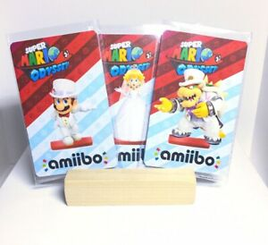 Wedding Super Mario, Peach, & Bowser Amiibo *CARD* - Super Mario Odyssey NFC Tag