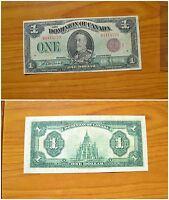 BANCONOTA 1 DOLLARO ONE DOLLAR 2 7 1922 DOMINION OF CANADA SUBALPINA