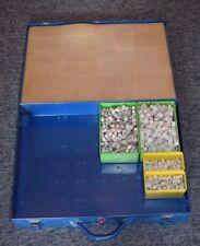 Sortimentkoffer 44,5x34x7,5cm Profi-Qualität mit Inhalt Obo Nagelschellen