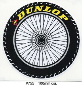 Dunlop Tyres Tribute #755 Sticker