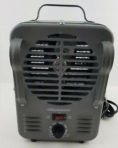 Lakewood Portable Heater 750-1500 Watt Milk House Style Model 792/JR Working