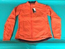 Rapha Orange Mens Transfer Jacket Size XL Lightweight for Cycling or Hiking BNWT