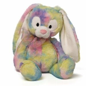 Gund Easter Splatter Color Patch Floppy Eared Bunny Rabbit Plush Perfect Gift
