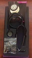 "3M Littmann Classic III 27"" Stethoscope BLACK/Smoke Chestpiece #5811 New in Box"