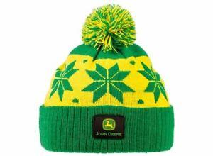 John Deere Winter Beanie Hat for Children