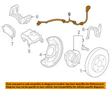 GM OEM ABS Anti-lock Brakes-Front Speed Sensor 13470639