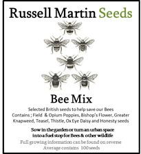 Bee Mix - Bee Friendly Native British Wild Flowers Seeds