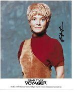 "Jennifer Lien Autograph Hand Signed ""Kes"" STAR TREK Voyager Photo With/COA WoW"