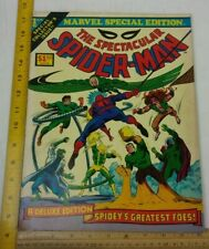 The Spectacular Spider-Man 1 Treasury Edition 1975 Marvel F/VF comic book