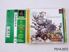 Metal Slug X Best Playstation 1 Japanese Import PS1 PS Japan JP US Seller A