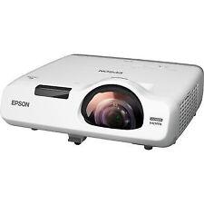 Epson Eb-535w 3400 Lumens WXGA Short Throw 2x VGA HDMI 10 000hr Lamp