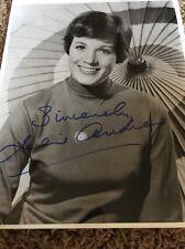Julie Andrews SIGNED Sound Of Music  PHOTO PSA/DNA COA PSA