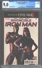 Invincible Iron Man #7 CGC 9.0 (2016) - Stunning copy (VF/NM) 1st Riri Williams