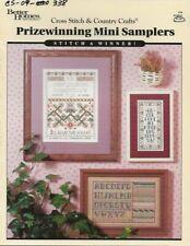 Vintage Prizewinning Mini Samplers Cross Stitch Leaflet