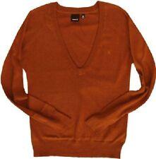 Hurley Hartwell Sweater (S) Burnt Orange