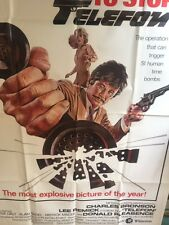 TELEFON: ONE-SHEET MOVIE POSTER - DON SIEGEL DIRECTED FILM WITH CHARLES BRONSON