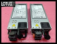 Lot of 2 Dell E1100D-S0 02RN7 1100W 32A 48V-60V DC Power Supply PSU 5G4WK