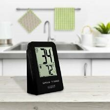 La Crosse Wireless Remote Thermometer Black In and Out Temp Farenheit or Celsius