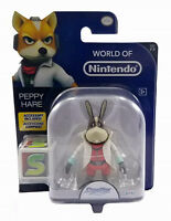 World of Nintendo StarFox Peppy 4 Inch Figure Jakks Pacific Series 2-3