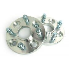 (4) 15mm Hubcentric Wheel Spacers | 4x108 4x4.25 63.4mm Hub | 12x1.5 Studs