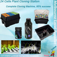 Hydroponics Cloner 24 Cells Plant Cutting Rooting Station With GT Clonex Gel CCS