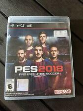 Pro Evolution Soccer 2018 (Sony PlayStation 3, 2017) RARE