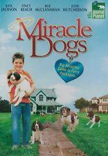 Miracle Dogs (DVD) Kate Jackson, Stacy Keach, Josh Hutcherson NEW