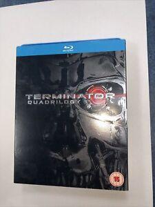 Terminator - Quadrilogy [Blu-ray] - DVD  0MVG The Cheap Fast Free Post