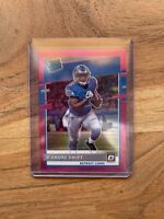 2020 DONRUSS D'Andre Swift RATED ROOKIE PINK OPTIC PRIZM Preview RC Holo Deandre