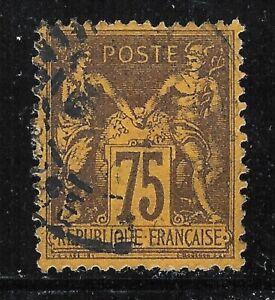 uaq43 France 1890 Sc#102 Mc#82 Scv$30.00