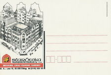 Poland postcard Elblag - Old Town Construction Company
