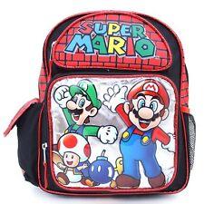 """Super Mario Luigi Dream Team School 12"""" Backpack BRAND NEW - Licensed Product"""
