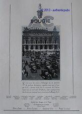 PUBLICITE BOUGIE AC OPERA GARNIER PARIS VOITURE CITROEN HISPANO SUIZA DE 1928 AD