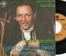 FRANK SINATRA disco 45 ITALY Goin'out of my head SIGLA TV